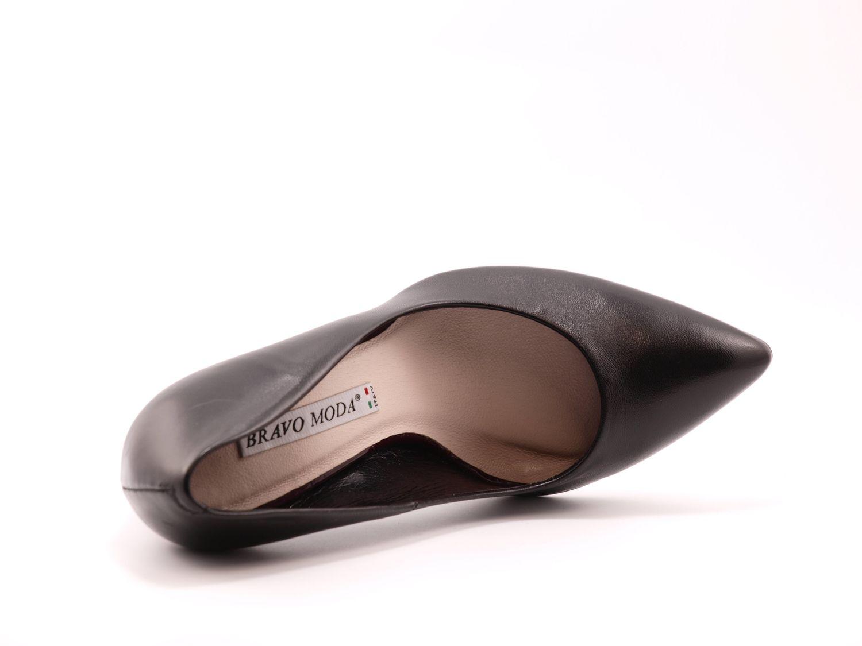 05e9899a5d78d4 Купити туфлі BRAVO MODA 1451 black leather в Україні, Києві, Харкові ...