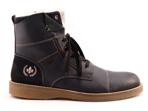 Зимові черевики чоловічі RIEKER 30031-12 blue 1 ea51fe1355a56